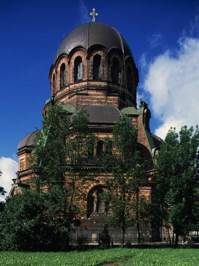 Russian-Orthodox Voskresensky Cathedral--Giclee Print