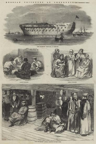 Russian Prisoners at Sheerness--Giclee Print