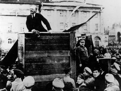 Russian Revolutionary Leader Vladimir Lenin--Premium Photographic Print