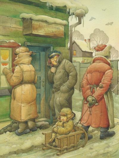 Russian Scene 02, 1994-Kestutis Kasparavicius-Giclee Print