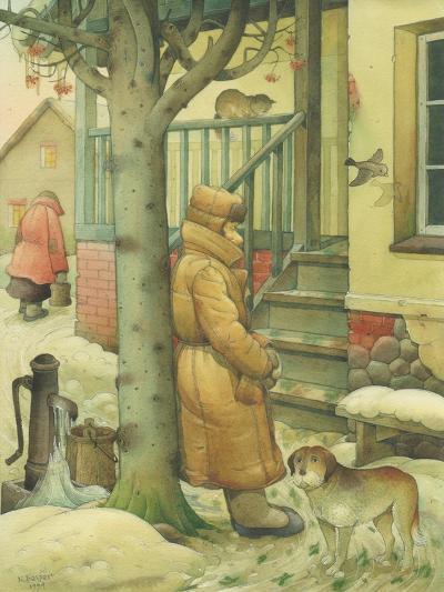 Russian Scene 03, 1994-Kestutis Kasparavicius-Giclee Print