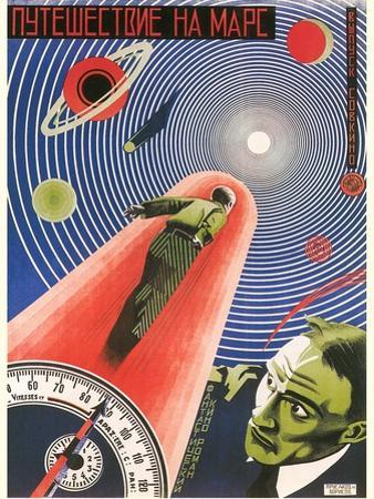 Russian Space Film Poster