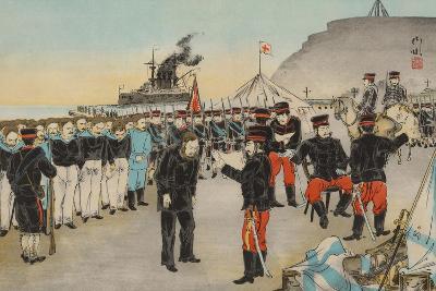 Russian Surrender at Chemulpo, Korea--Art Print