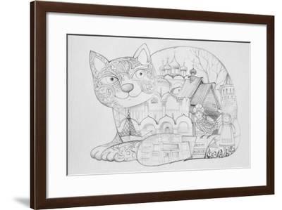 Russian Suzdal - Outline-Oxana Zaika-Framed Giclee Print