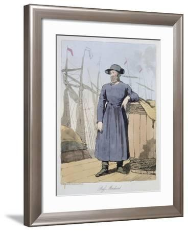 Russian Trader, Russia 19th Century--Framed Giclee Print