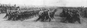 Russian Troops Parading During French President Raymond Poincare's Visit to Russia, 22 July, 1914