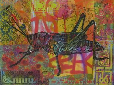 Grasshopper, Grasshoppers, Insects, Jumper, Bugs, Stencils, Pop Art by Russo Dean