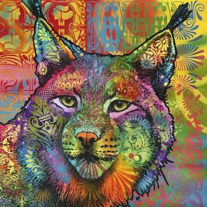 The Lynx, Big Cats, Animals, Colorful, Pop Art, Stencils by Russo Dean