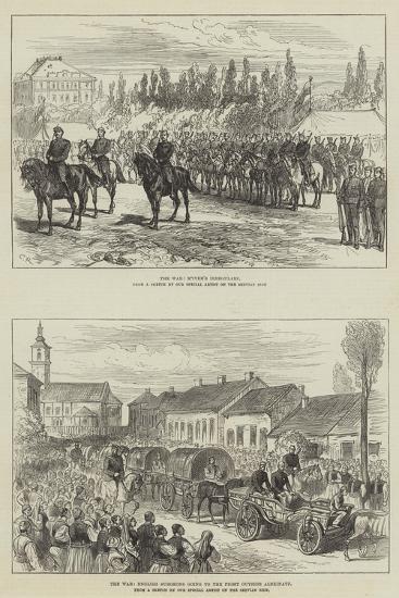 Russo-Turkish War-Charles Robinson-Giclee Print