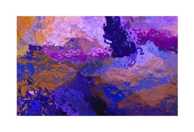 Rust Blue Abstraction-Menaul-Limited Edition