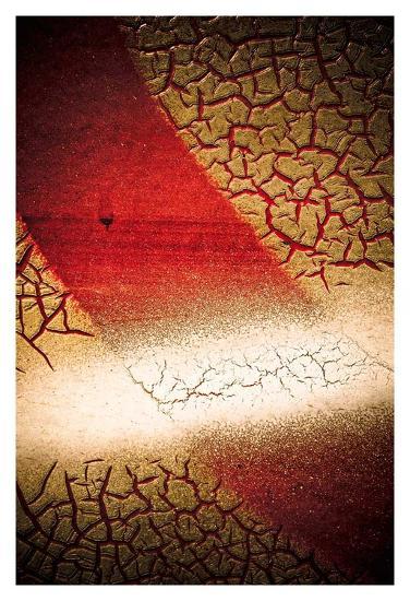 Rust Line Abstract I-Jean-Fran?ois Dupuis-Art Print