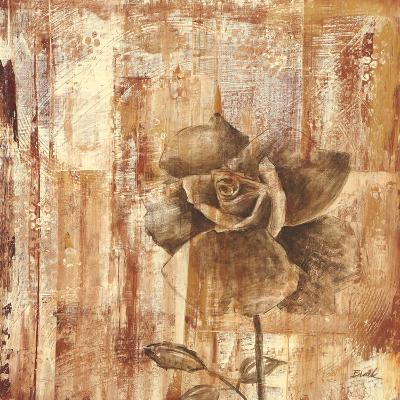 Rust Rose II-Carol Black-Art Print