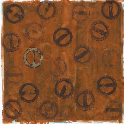 Rusted Imprint II-Jenna Guthrie-Art Print