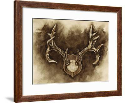 Rustic Antler Mount I-Ethan Harper-Framed Giclee Print
