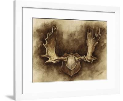 Rustic Antler Mount II-Ethan Harper-Framed Giclee Print