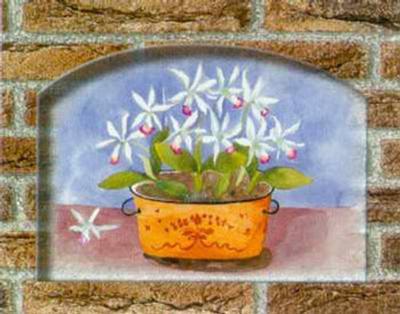 Rustic Bouquets II-C. Potter-Art Print