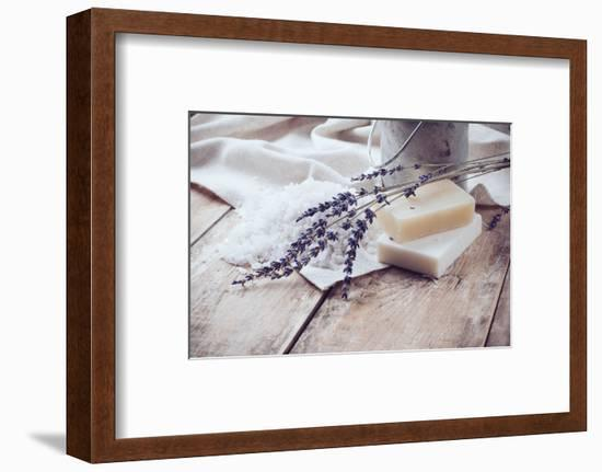 Rustic Country Background-manera-Framed Photographic Print