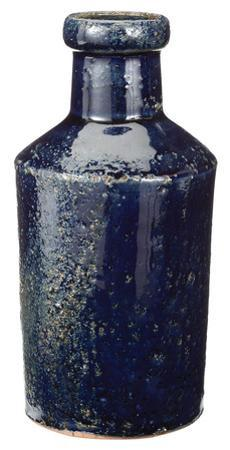 Rustic Denim Milk Bottle