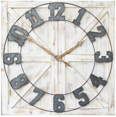 Rustic Farmhouse Wall Clock
