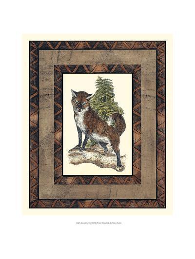 Rustic Fox-Vision Studio-Art Print