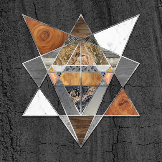 Rustic Geometry I-Tina Lavoie-Giclee Print