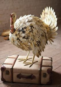 Rustic Metal Turkey
