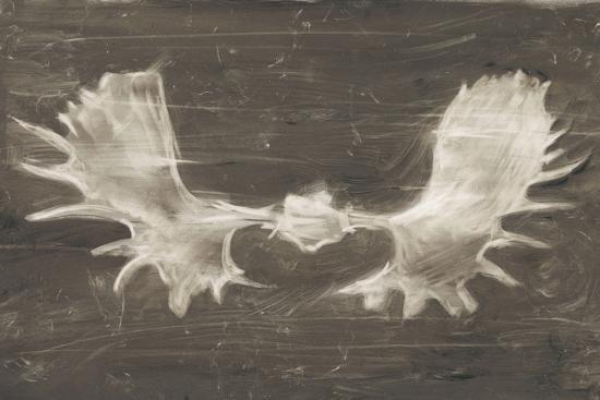 Rustic Moose Mount II-Ethan Harper-Art Print