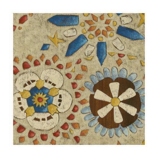 Rustic Mosaic IV-Chariklia Zarris-Premium Giclee Print