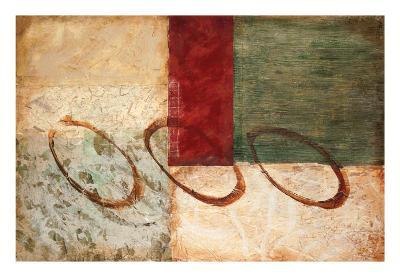 Rustic Pastiche I-Kate Hartman-Art Print