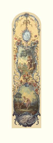 Rustic Pursuits IV-Francois Boucher-Premium Giclee Print