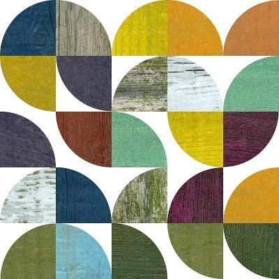 Rustic Rounds 3.0-Michelle Calkins-Art Print