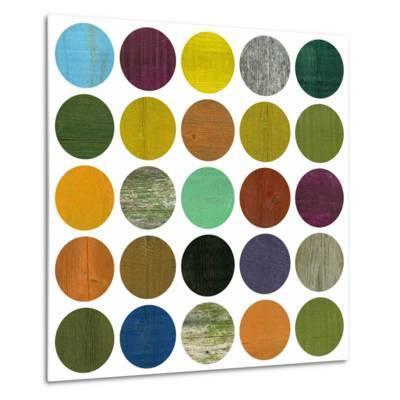 Rustic Rounds 4.0-Michelle Calkins-Metal Print