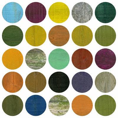 Rustic Rounds 4.0-Michelle Calkins-Art Print