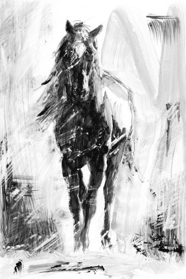 Rustic Stallion II-Ethan Harper-Premium Giclee Print