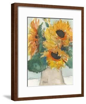 Rustic Sunflowers I-Samuel Dixon-Framed Art Print