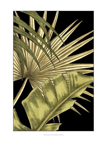 Rustic Tropical Leaves II-Ethan Harper-Art Print