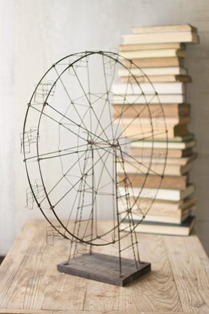 Rustic Wire Ferris Wheel