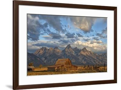 Rustic Wyoming-Darren White Photography-Framed Giclee Print