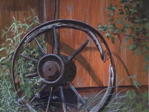 Wagon Wheel by Rusty Frentner