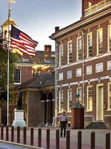 Philadelphia Independence Hall by Rusty Kennedy