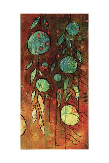 Rusty Space Jungle-BJ Lantz-Art Print