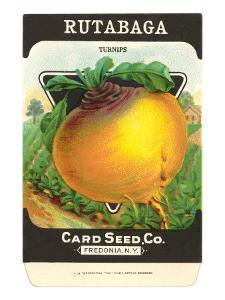 Rutabaga Seed Packet