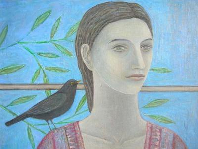 A Woman and a Blackbird are One