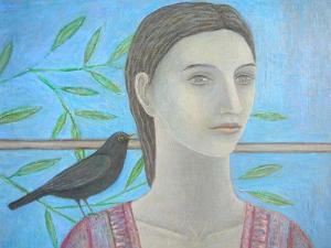 A Woman and a Blackbird are One by Ruth Addinall