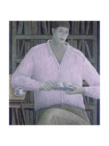 Man Reading by Ruth Addinall
