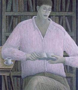 Man Reading by Ruth Addinall