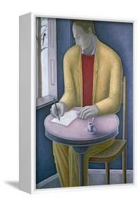 Man Writing by Ruth Addinall