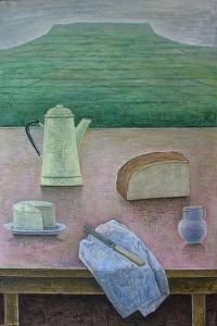 Still Life with Wensleydale Cheese, 2013 by Ruth Addinall