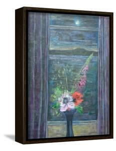 Summer Night (Bouquet in Window), 2013 by Ruth Addinall
