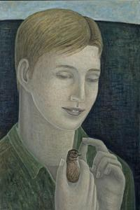 The Young Francis (Boy Holding Bird), 2015 by Ruth Addinall